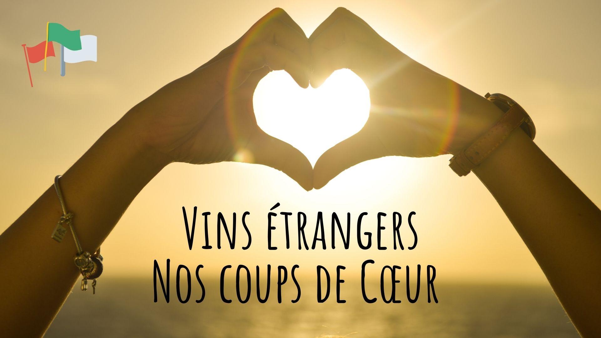 Vins étrangers nos coups de coeur