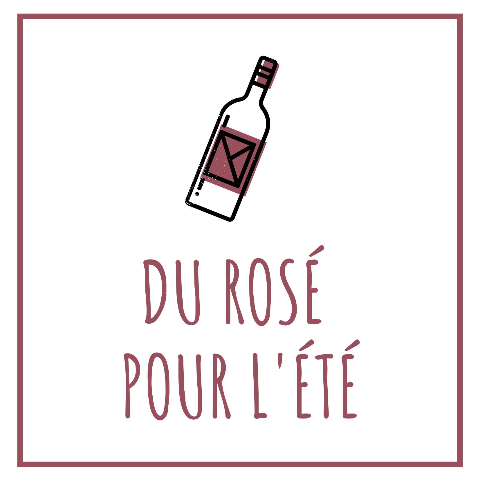 Du rosé pour l'été
